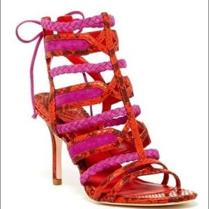 Brian Atwood snake heels